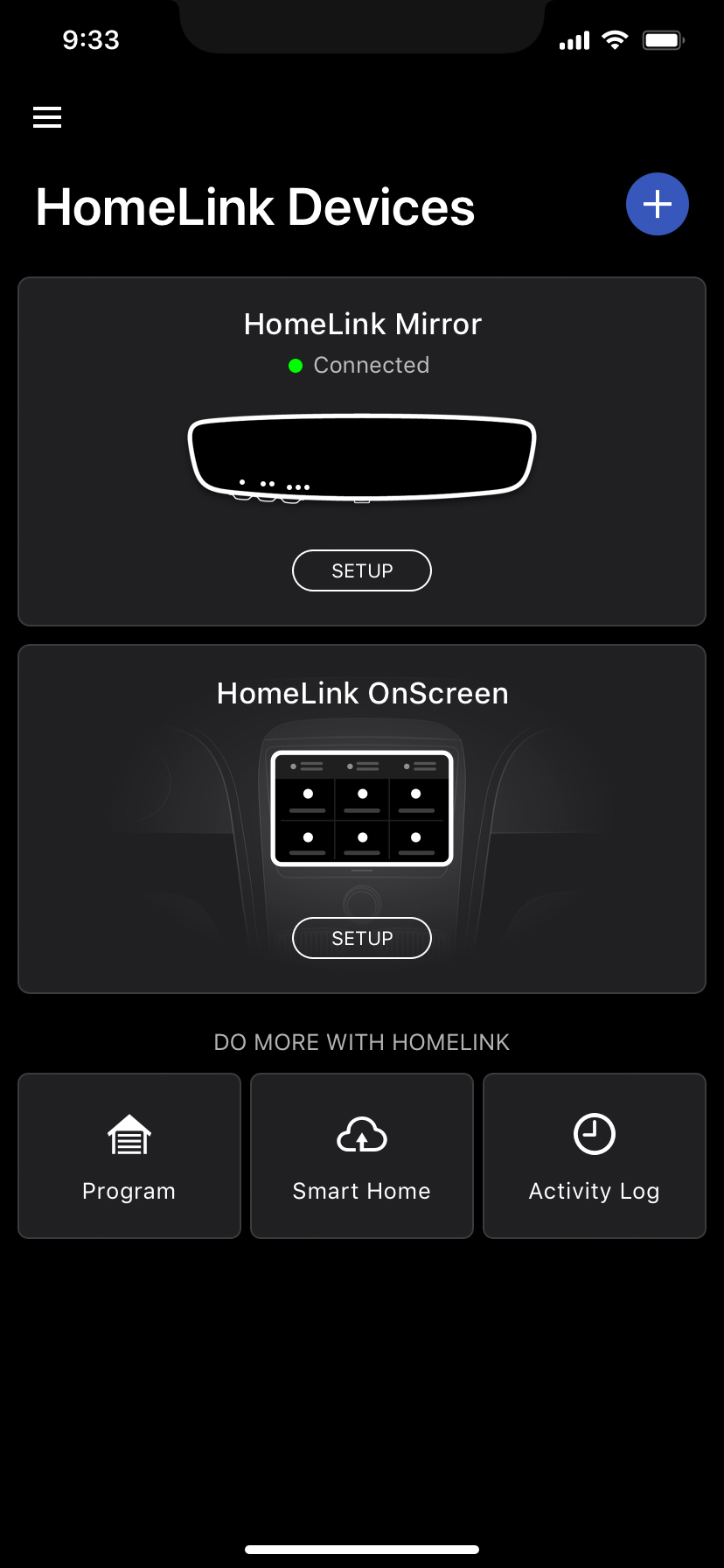Smart Home Account Setup Step 1 screen graphic